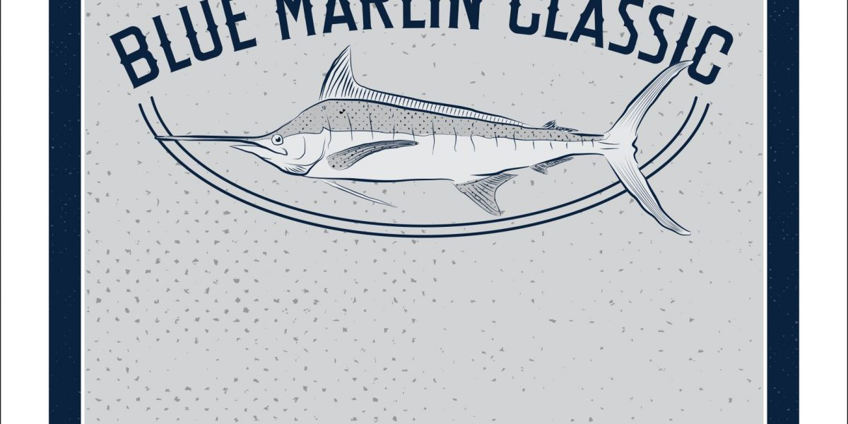 Blue Marlin Classic poster 2018