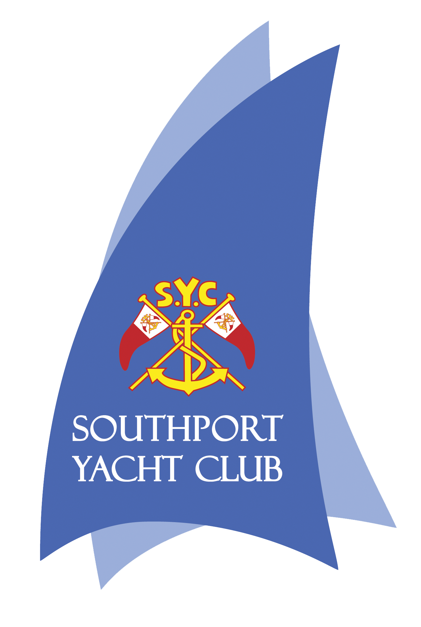 Official Southport Yacht Club Logo   SAILS Copy